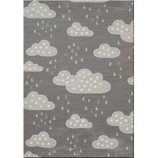 Παιδική χαλομοκέτα Baby Clouds 095 Grey